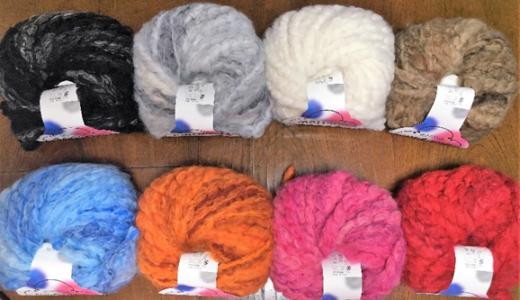 ゆび編みでザクザク編もう!超極太毛糸で編むスヌードワークショップ